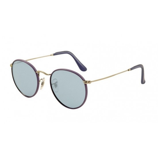 Ray-Ban RB 3475Q 019-62 Argento Opaco Violetto