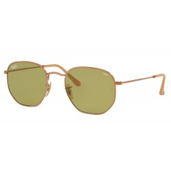 Ray-Ban RB 3548N Hexagonal 91314C Rame