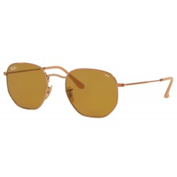 Ray-Ban RB 3548N Hexagonal 91314I Rame