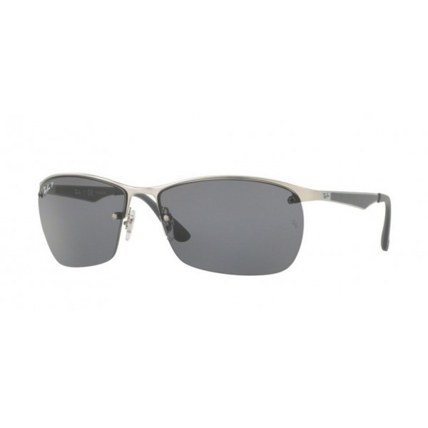 Ray-Ban RB 3550 - 019/81 Argento Opaco