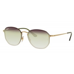 Ray-Ban RB 3579N Blaze Hexagonal 91400R Oro Demi Gloss