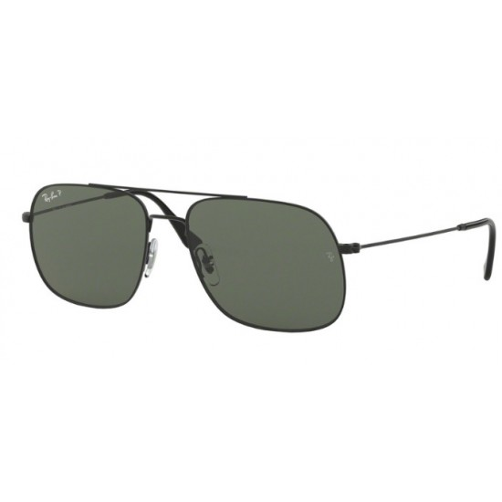Ray-Ban RB 3595 Andrea 90149A Gomma Nera