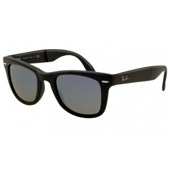 Ray-Ban RB 4105 601S-68 Wayfarer Folding Nero Opaco