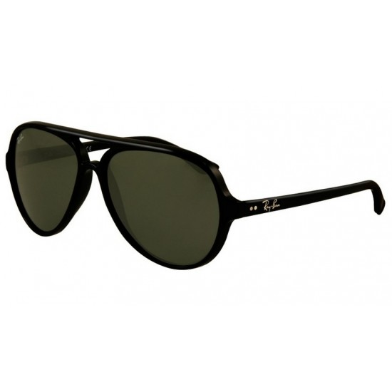 Ray-Ban RB 4125 601 Cats 5000 Nero