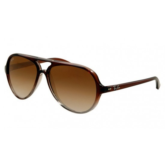 Ray-Ban RB 4125 824-51 Cats 5000 Marrone Sfumato