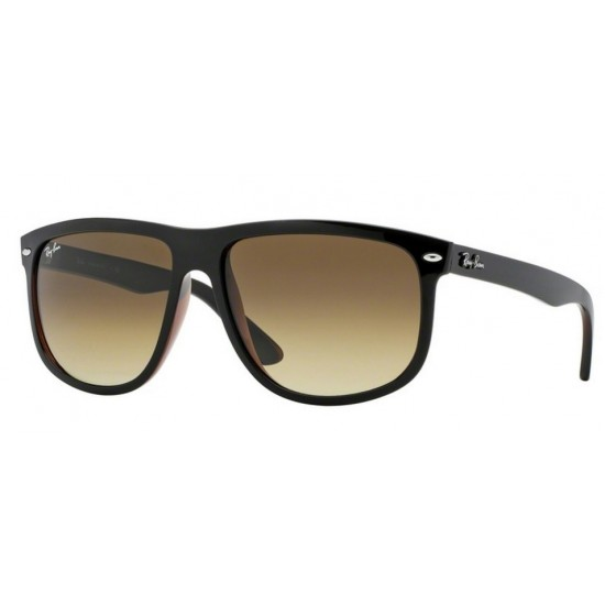 Ray-Ban RB 4147 Rb4147 609585 Top Nero Su Marrone | Occhiale Da Sole Uomo