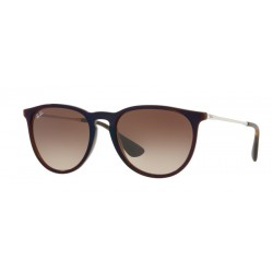 Ray-Ban RB 4171 Erika 631513 Blu Trasparente Marrone Sp