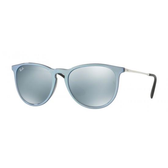 Ray-Ban RB 4171 Erika 631930 Grigio Specchio Flash Grigio | Occhiale Da Sole Unisex