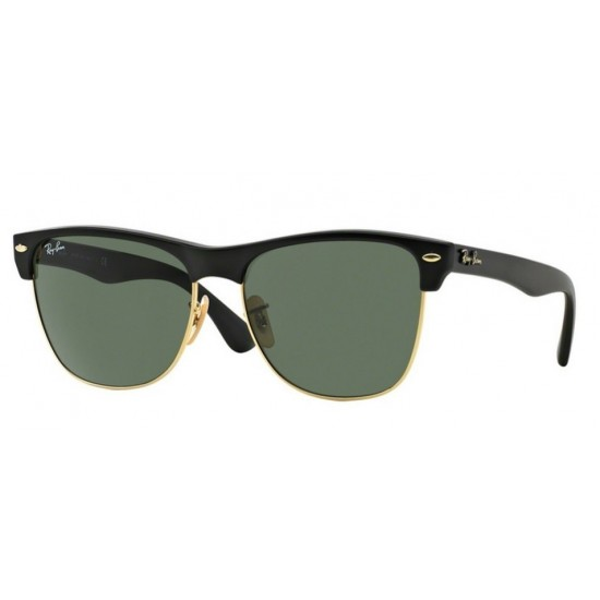 Ray-Ban RB 4175 Clubmaster Oversized 877 Demi Nero Lucido / Arista
