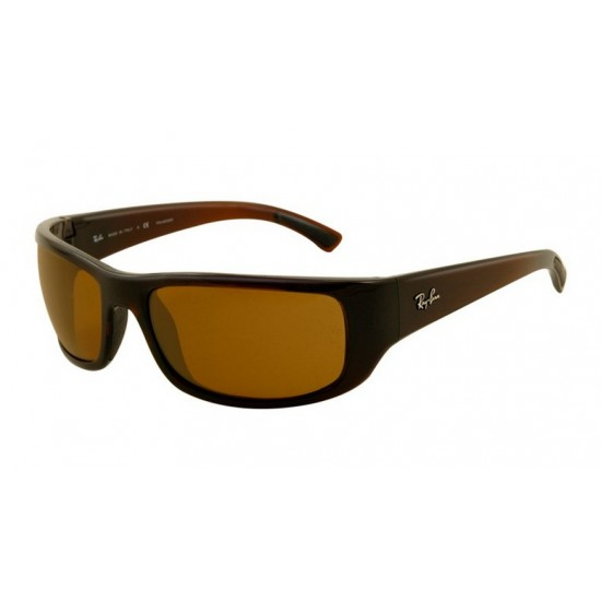 Ray-Ban RB 4176 714-57 Polarizzato Marrone