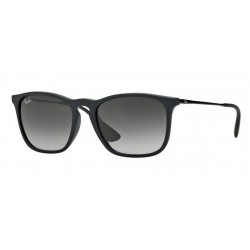 Ray-Ban RB 4187 Chris 622/8G Gomma Nera