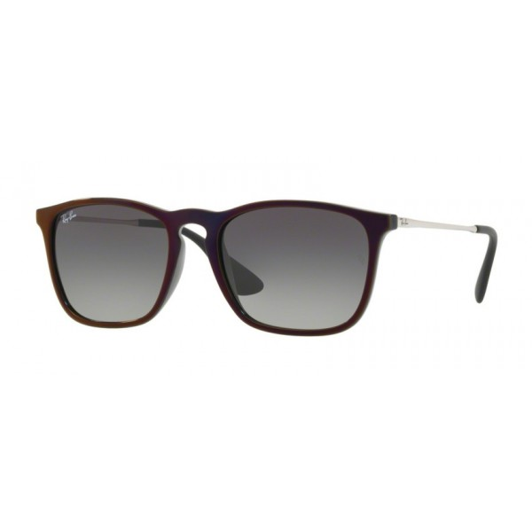 Ray-Ban RB 4187 Chris 631611 Nero Sp Rosso