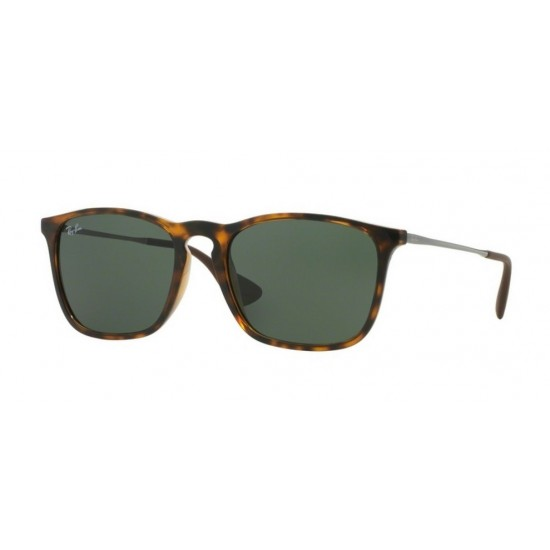 Ray-Ban RB 4187 Chris 710/71 Avana Chiara | Occhiale Da Sole Uomo