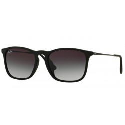 Ray-Ban Chris 4187F 622-8G Nero Gommato
