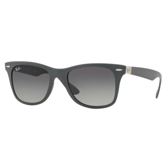 Ray-Ban RB 4195 Wayfarer Liteforce 633211 Grigio Opaco | Occhiale Da Sole Uomo