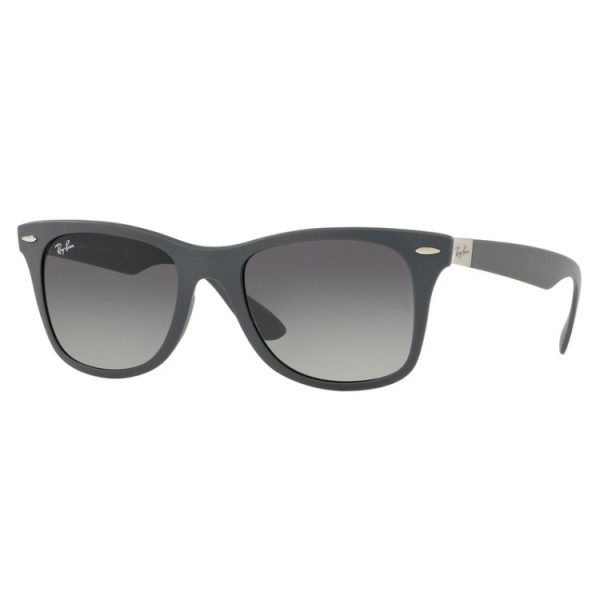 Ray-Ban RB 4195 Wayfarer Liteforce 633211 Grigio Opaco
