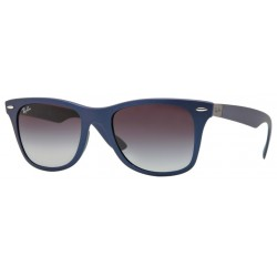 Ray-Ban RB 4195 Wayfarer Liteforce 63318G Blu Opaco
