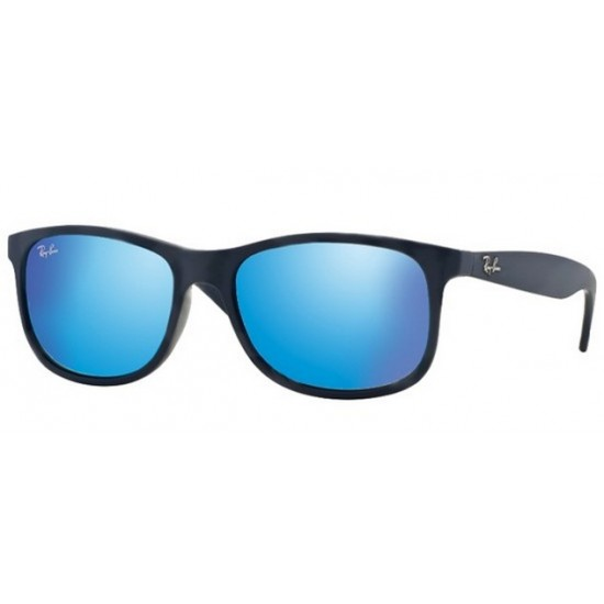 Ray-Ban RB 4202 Andy 615355 Blu Lucido Sul Piano Opaco