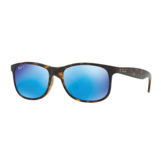 Ray-Ban RB 4202 Andy 710/9R Avana Splendente   Occhiale Da Sole Uomo