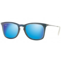 Ray-Ban RB 4221 617055 Youngster Blu Gommato