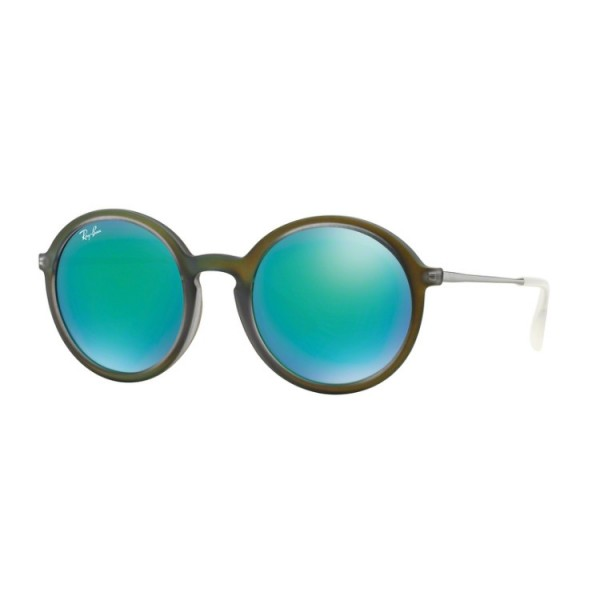 Ray-Ban RB 4222 61693R Verde Gommato