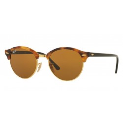 Ray-Ban RB 4246 Clubround 1160 Maculato Avana Marrone