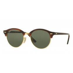 Ray-Ban RB 4246 Clubround 990 Avana Rossa