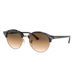 Ray-Ban RB 4246 Clubround 125651 Macchiato Marrone / Blu