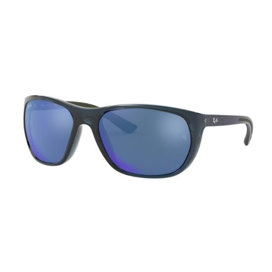 Ray-Ban RB 4307 - 643855 Blu Trasparente | Occhiale Da Sole Uomo