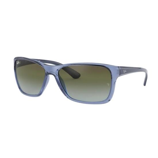Ray-Ban RB 4331 - 64784L Blu Trasparente | Occhiale Da Sole Uomo