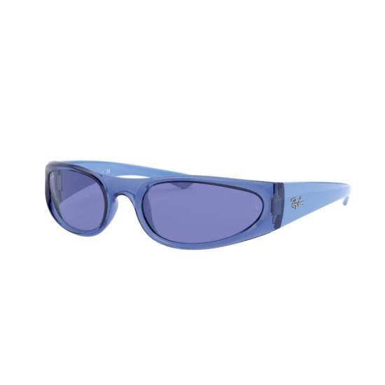 Ray-Ban RB 4332 - 648380 Blu Trasparente   Occhiale Da Sole Unisex