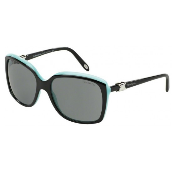 Tiffany TF 4076 - 80553F Superiore Nero / Blu | Occhiale Da Sole Donna