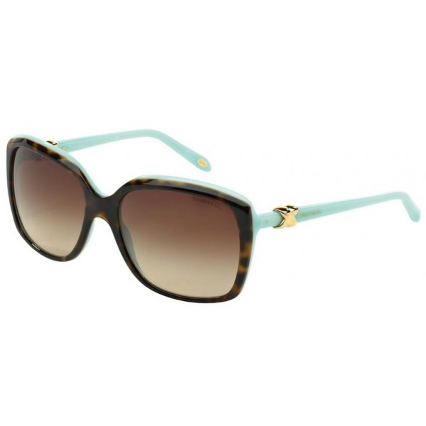 Tiffany TF 4076 - 81343B Top Havana / Blu