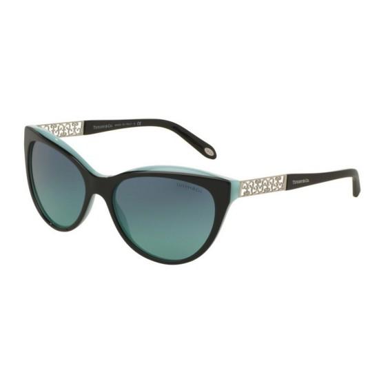 Tiffany TF 4119 - 80559S Nero Blu | Occhiale Da Sole Donna