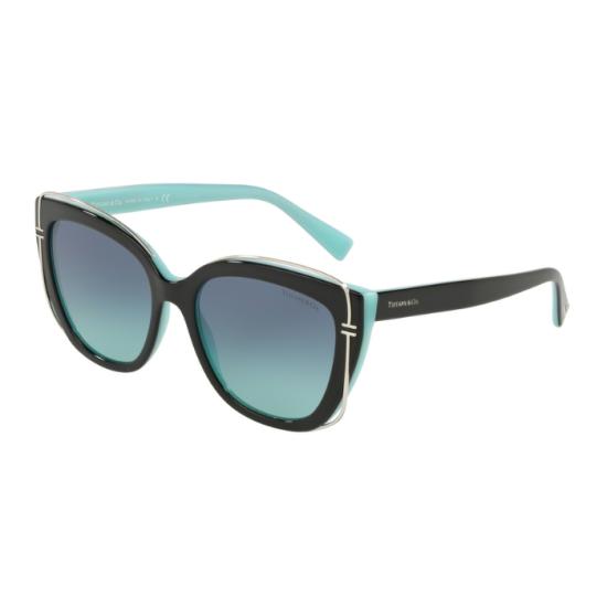 Tiffany TF 4148 - 80559S Nero Blu | Occhiale Da Sole Donna