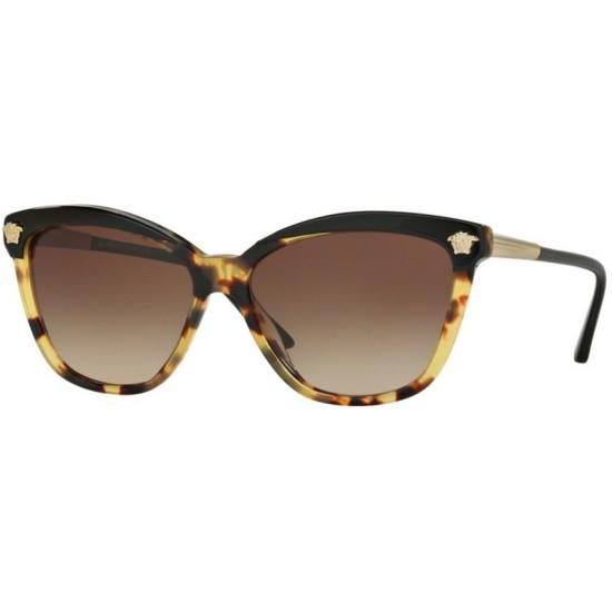 Versace VE 4313 - 517713 Nero / Avana | Occhiale Da Sole Donna