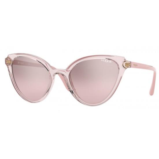 Vogue VO 5294S - 27638Z Rosa / Rosa Trasparente | Occhiale Da Sole Donna