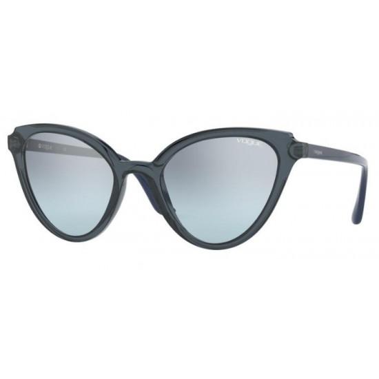 Vogue VO 5294S - 27647C Blu / Blu Trasparente | Occhiale Da Sole Donna