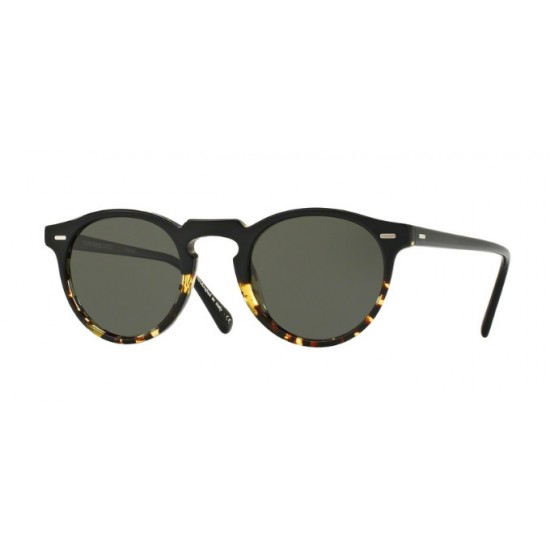 Oliver Peoples OV 5217S Gregory Peck Sun 1178P1 Sfumatura Nero / Dtbk