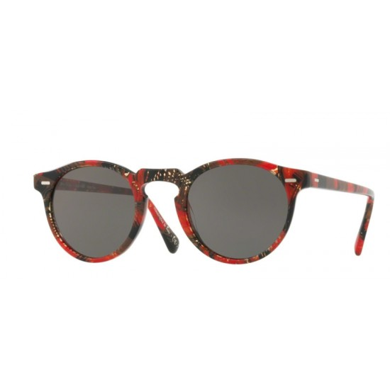 Oliver Peoples OV 5217S Gregory Peck Sun 1624R5 Palmier Rouge