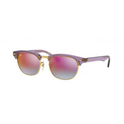 Ray-Ban Junior RJ 9050S Junior Clubmaster 7036A9 Viola Trasparente