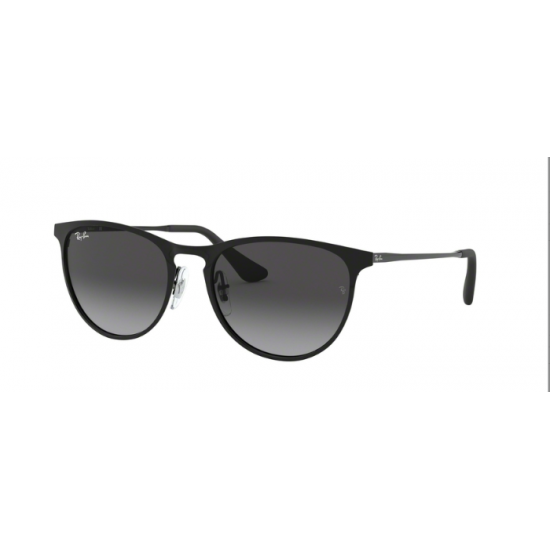 Ray-Ban Junior RJ 9538S Junior Erika Metal 220/8G Nero | Occhiale Da Sole Bambino Unisex