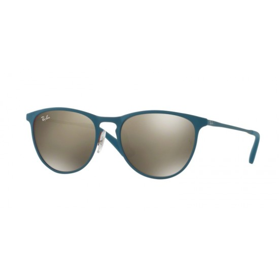 Ray-Ban Junior RJ 9538S Junior Erika Metal 253/5A Gomma Rosso / Turchese