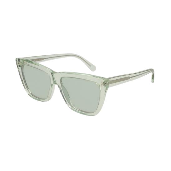 Stella McCartney SC0140S - 005 Verde   Occhiale Da Sole Donna