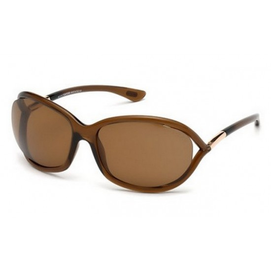 Tom Ford FT 0008 Jennifer 48H Lucido Marrone Scuro
