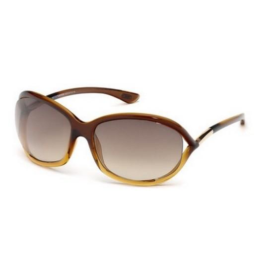 Tom Ford FT 0008 Jennifer 50F Marrone Scuro | Occhiale Da Sole Donna