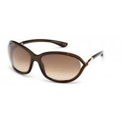 Tom Ford FT 0008 Jennifer 692 Lucido Marrone Scuro