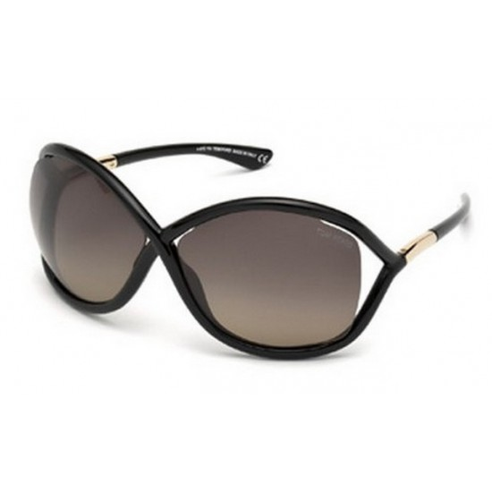Tom Ford FT 0009 Whitney 01D Nero Lucido | Occhiale Da Sole Donna