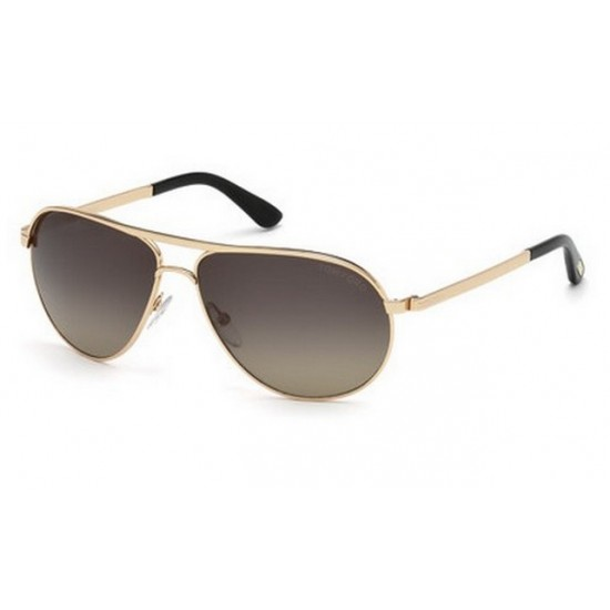 Tom Ford FT 0144 Marko 28D  Rosa Oro Brillante | Occhiale Da Sole Uomo