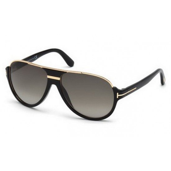 Tom Ford FT 0334  Dimitry 01P Nero Lucido | Occhiale Da Sole Uomo